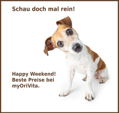 Happy Weekend MyOriVita